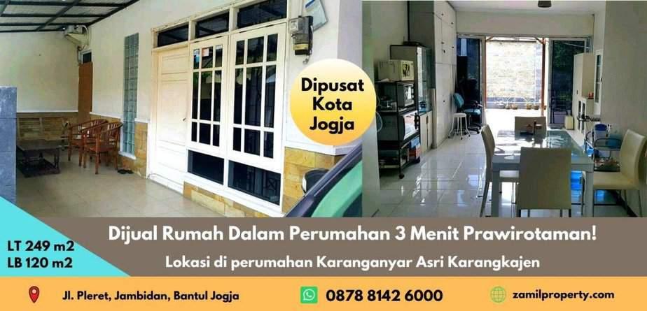 Dijual Rumah Dalam Perumahan 3 Menit Prawirotaman